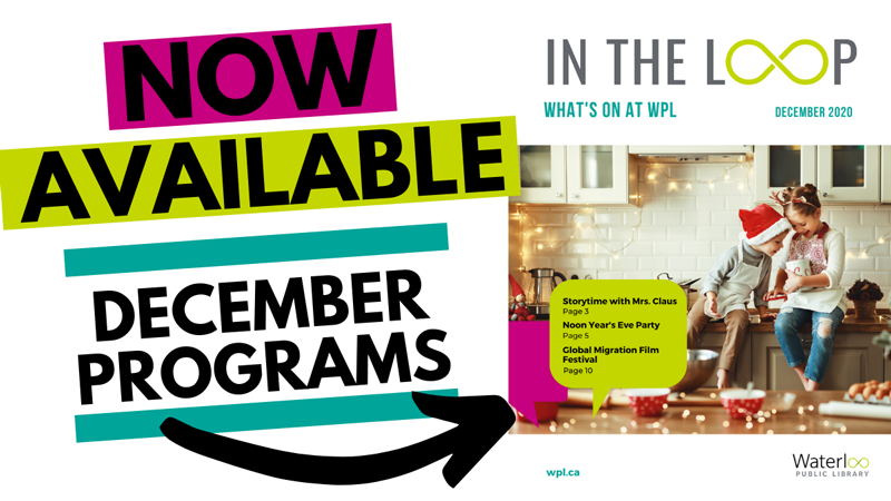 In the Loop program guide cover - December 2020